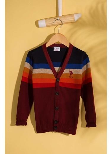 U.S.Polo Assn. Hırka Kırmızı